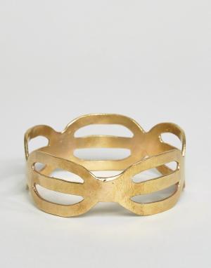 Made Браслет Kisungi. Цвет: золотой