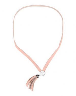 Ожерелье MARC BY JACOBS. Цвет: розовый