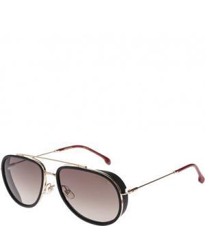 Неполяризованные солнцезащитные очки Carrera. Цвет: черный