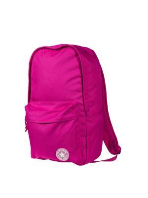 Рюкзак EDC Poly Backpack Converse. Цвет: фуксия