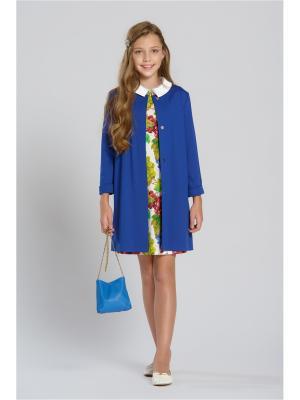 Пальто Stillini. Цвет: синий