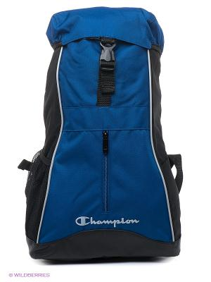 Рюкзак CHAMPION. Цвет: черный, синий