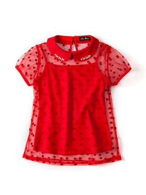 Блузка I love to dream. Цвет: красный
