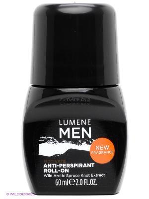 Роликовый антиперспирант 24 часа Lumene For Men Motivate, 60 мл. Цвет: белый, черный