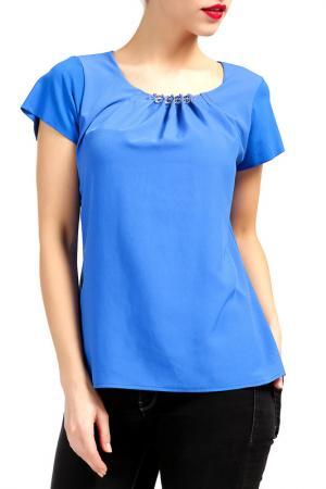 Блуза Dori. Цвет: синий