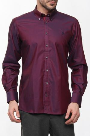 Рубашка Otto Kern. Цвет: бордовый