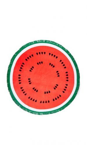 Полотенце All Around Watermelon ban.do. Цвет: красный