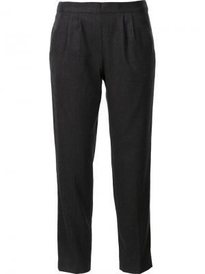 Укороченные брюки Masscob. Цвет: серый