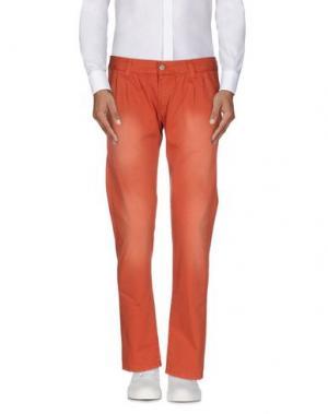 Повседневные брюки MINIMAL. Цвет: оранжевый