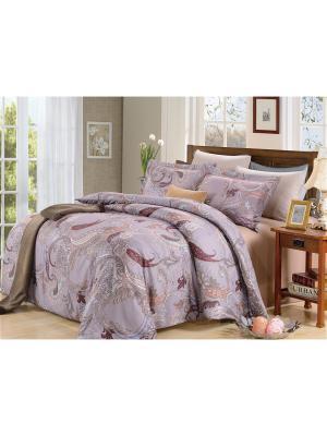 Комплект постельного белья, Лайма, 1.5 спальный KAZANOV.A.. Цвет: фиолетовый