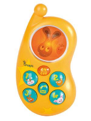 Игрушка Бани-фон OUAPS. Цвет: оранжевый, голубой