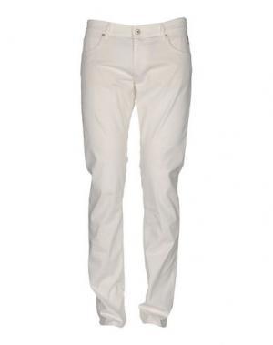 Повседневные брюки ROŸ ROGER'S. Цвет: белый
