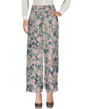 Повседневные брюки LIMI FEU. Цвет: розовый