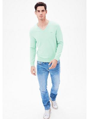 Пуловер S.OLIVER. Цвет: морская волна