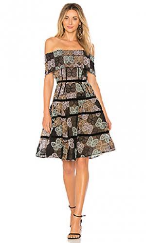 Платье lulu Bronx and Banco. Цвет: черный