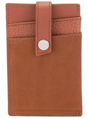 Бумажник Kennedy с зажимом для купюр Want Les Essentiels De La Vie. Цвет: коричневый