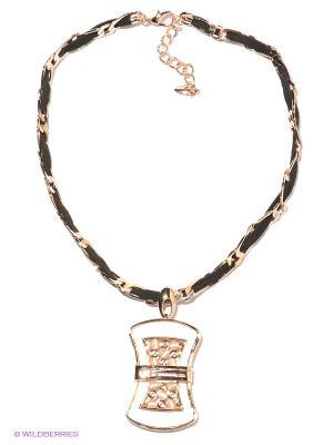 Колье Bijoux Land. Цвет: бронзовый, черный