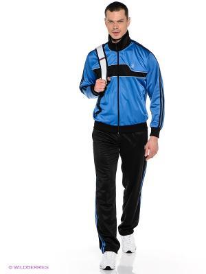 Спортивный костюм ADDIC. Цвет: синий, черный