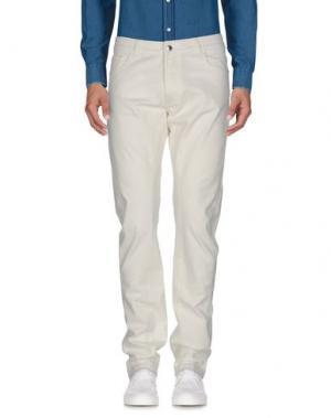 Повседневные брюки COSTUME NEMUTSO. Цвет: белый
