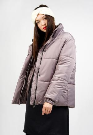 Куртка утепленная BURLO. Цвет: бежевый