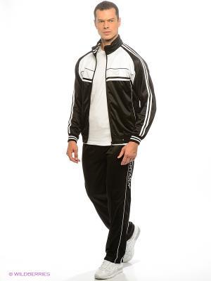 Спортивный костюм Montana. Цвет: белый, черный