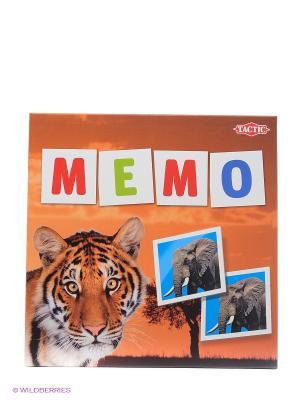Мемо  Дикие животные 2 Tactic Games. Цвет: коричневый