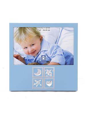 Фоторамка Наш малыш Русские подарки. Цвет: голубой