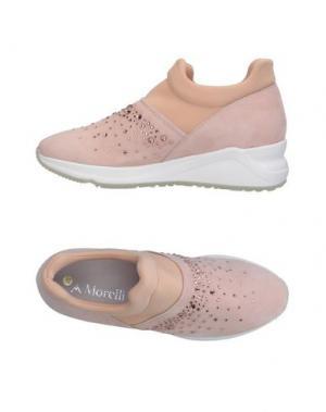 Низкие кеды и кроссовки ANDREA MORELLI. Цвет: розовый