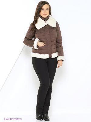 Куртка Windward. Цвет: коричневый