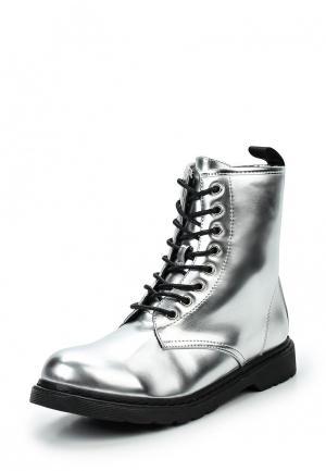 Ботинки Jennyfer. Цвет: серебряный