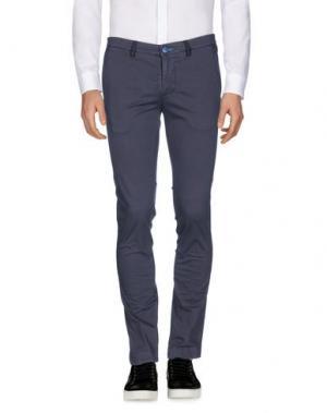 Повседневные брюки DIMATTIA. Цвет: темно-фиолетовый