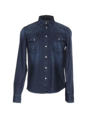 Джинсовая рубашка 40WEFT. Цвет: синий