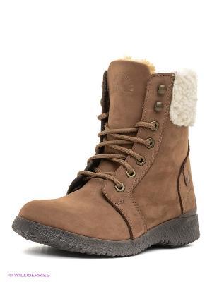 Ботинки Best Walk. Цвет: темно-коричневый