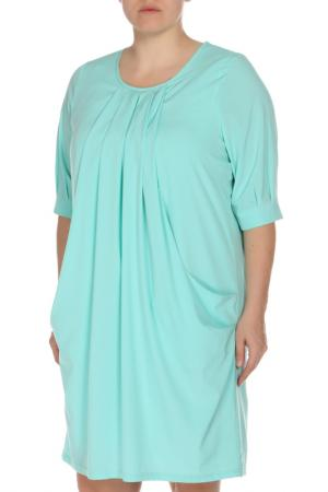 Платье Amazone. Цвет: бирюзовый