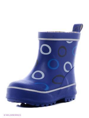 Резиновые сапоги Reima. Цвет: голубой