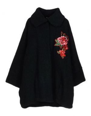 Пальто ODI ET AMO. Цвет: темно-зеленый