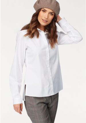 Блузка BRUNO BANANI. Цвет: белый