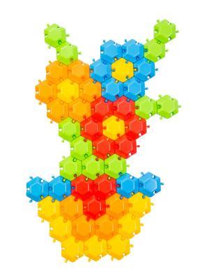 Мозаика-пазл Фантазия 60эл. ТИГРЕС. Цвет: синий, зеленый, красный, желтый
