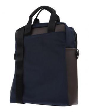 Рюкзаки и сумки на пояс BORSETTERIA Napoli 1985. Цвет: темно-синий