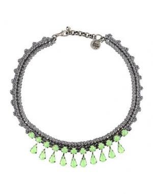 Ожерелье VENESSA ARIZAGA. Цвет: серый