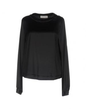 Блузка MAURO GRIFONI. Цвет: черный