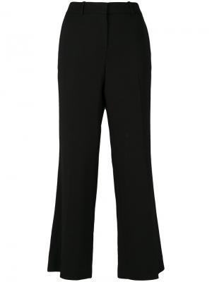 Широкие укороченные брюки Emilio Pucci. Цвет: чёрный