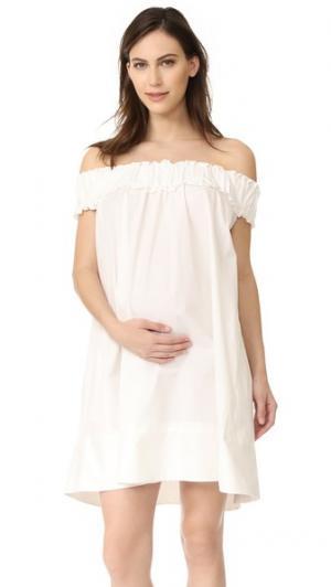 Платье Audrey HATCH. Цвет: белый