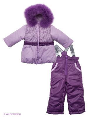 Комплект одежды Аксарт. Цвет: фиолетовый, сиреневый