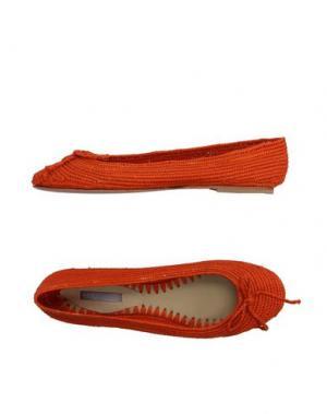 Балетки ROSAMUNDA. Цвет: оранжевый