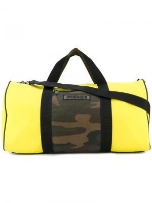 Дорожная сумка Hydrogen. Цвет: жёлтый и оранжевый