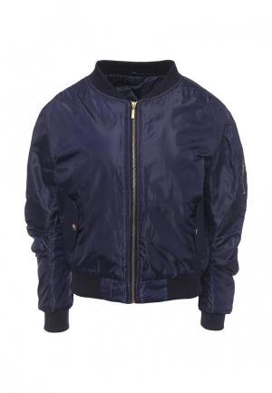 Куртка Edge Street. Цвет: синий