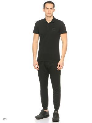 Поло муж. AB 16TH POLO  BLACK Adidas. Цвет: черный