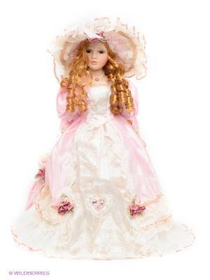 Кукла фарфоровая Василина Lisa Jane. Цвет: розовый, белый