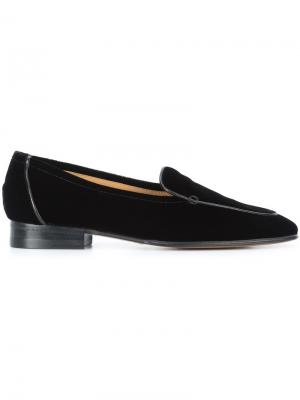 Classic loafers The Row. Цвет: чёрный